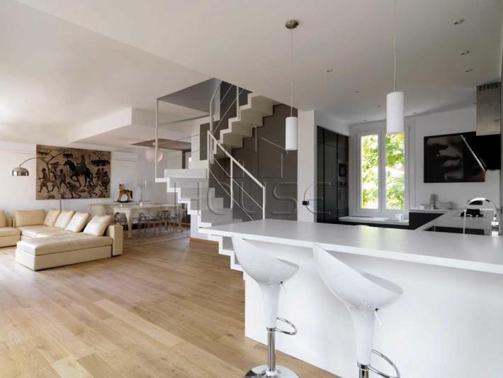 Porzione di bifamiliare sansepolcro santa fiora rif for Foto appartamenti moderni